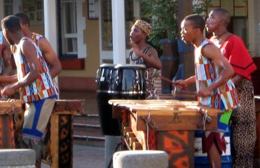 African Experience Eat Drink Dance And Drum